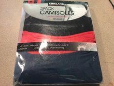 2ff8fcc5972c05 Camisoles and Camisole Sets 11521  Nwt Kirkland Signature Women S Luxurious  Micromodal Camisoles - Medium