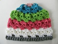 Crochet skull beanie pattern. I would choose different colours, but this pattern is brilliant :-)