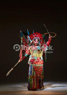 Foto de stock : Chinese opera character (Mu Gui Ying)