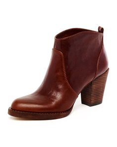 "KORS Michael Kors  Wayland Short Leather Boot.     ""coffee vintage vachetta leather"" . . . drool."