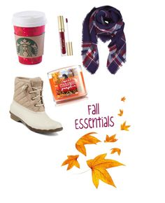 """""""Fall essentials."""" by phashionrx on Polyvore featuring beauty, Sperry, Humble Chic and Stila"""