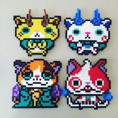 Yo-Kai Watch perler beads by _kaorin5_