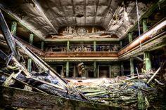 Abandoned Germany | Abandoned Theatre by illpadrino - Germany