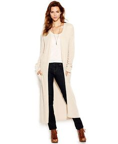 Lucky Brand Stella Long-Sleeve Duster Cardigan...Can't wait to get mine delivered...$99 for $34..Yes!