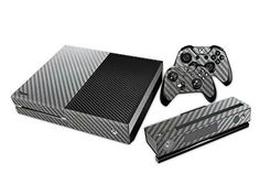 Mod Freakz Console and Controller Vinyl Skin Set  Silver Carbon Fibers for Xbox One * You can find more details by visiting the image link.Note:It is affiliate link to Amazon.