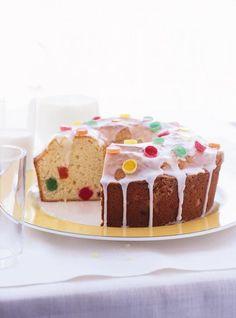 Gâteau aux jujubes, parfait pour les restants de bonbons! :)