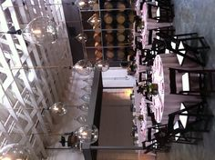 Overview of wedding at Bluxome Street Winery.