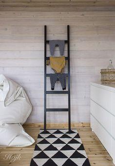 Wooden design ladders