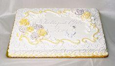 sheet+cake+wedding+cake | Wedding Sheet Cakes