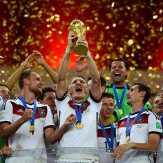 Alemania Campeones de la Copa del Mundo 2014