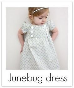 Lots and lots of lovely tutorials for sewing all sorts of things...I really loved this little dress...