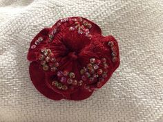 Red beaded flower Stage3(toddler)