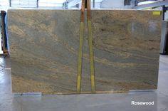 Rosewood granite: sometimes granite is a piece of art.