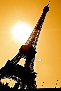 Sepia Eiffel Tower by SumantKumarRaja on Flickr.