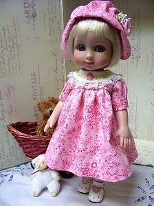 ann estelle 18 inch doll | Tonner Patsy Ann Estelle Pretty Pink Dress and Bonnet 10 Doll | eBay