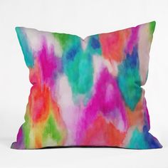 Jacqueline Maldonado Epiphany 2 Outdoor Throw Pillow from Deny Designs. Saved to DENY Designs Products. Tie Dye Crafts, Epiphany, Designer Pillow, Boutique, Outdoor Throw Pillows, Graphic Prints, Home Accessories, Modern, Weaving