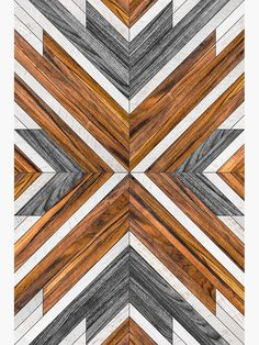 Urban Tribal Pattern 4 – with real wooden textures and steel inlays. Simple, n… Urban Tribal Pattern 4 – with