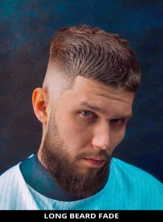 Request this outstanding long beard fade that's totally trending this season! Tap visit to be inspired by more of the 22 modern beard fade haircuts (trending right now). // Photo Credit: @zaebis.haircuts on Instagram Latest Hairstyles, Hairstyles Haircuts, Beard Fade, Rugged Look, Beard Styles For Men, Long Beards, Fade Haircut, Photo Credit, Hair Cuts