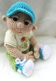free crochet doll patterns - - Yahoo Image Search Results