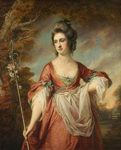 Francis Cotes, (English painter, Elizabeth Cust, Mrs Yorke as a Shepherdess During the & artists painted their . 18th Century Fashion, Historical Art, Art Uk, Old Master, Art Plastique, Beautiful Paintings, Great Artists, Female Art, Sketches
