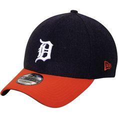 New Era Detroit Tigers Clean Hit Classic Flex Hat - Navy Blue/Orange