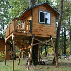 Outside Living, Outdoor Living, Outdoor Play, Cabana, Deer Stand Plans, Deer Stands, Tree House Plans, Tree House Homes, Cabin Homes