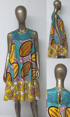 African Fashion – Designer Fashion Tips African Dresses For Kids, African Wear Dresses, African Fashion Ankara, Latest African Fashion Dresses, African Print Fashion, African Attire, Robe Swing, Swing Dress, African Print Dress Designs