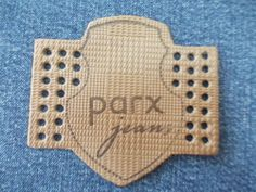 leather label - Pesquisa Google Garra, Leather Label, Label Design, Badges, Jeans, Patches, Branding, Graphics, Embroidery