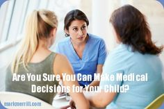 We encourage you to learn more about the importance of having a document that names you as your adult child's designated healthcare surrogate and then take action. #parenting #decisions
