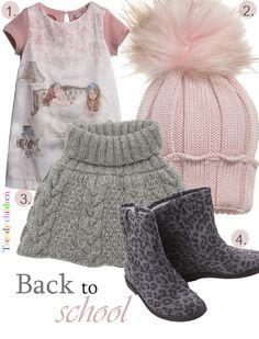 tendencias vuelta al cole gris y rosa