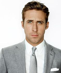 First there is Brad Pitt and at a close second comes Ryan Gosling!!