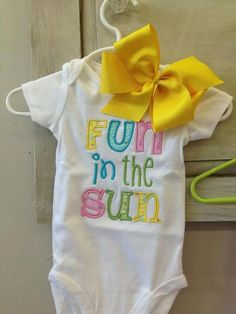 Hey, I found this really awesome Etsy listing at https://www.etsy.com/listing/150671493/12-month-childrens-fun-in-the-sun-summer