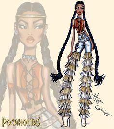 https://flic.kr/p/F1dUjQ | #DisneyDiva 'Fashionistas' by Hayden Williams: #Pocahontas | Pocahontas
