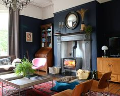 Greg (@manwithahammer) • Instagram photos and videos Little Greene, House Design, Living Room, Inspiration, Fire, Instagram, People, Home Decor, Boho