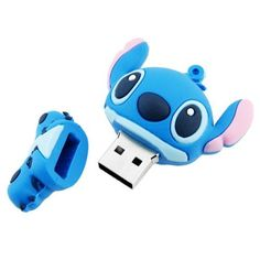 - Storage capacity: - Stitch shaped USB flash drive - Made of plastic material - Key chain hole design, convenient for carrying and using - High-speed…