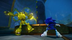 Sonic Boom Episode HD 2015 - Fighting with Octopus Monster