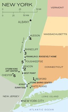 Discover our Essential #HudsonValley #RoadTrip #Itinerary | Use this map to plot your journey