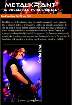 """""""Great melodic metal in Dream Theater style."""" Metalkrant"""