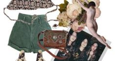• Drücke dich durch dich aus Polyvore, Fashion Design, Fashion Styles, Knit Jacket, Outfit Ideas, Printing, Dressing Up