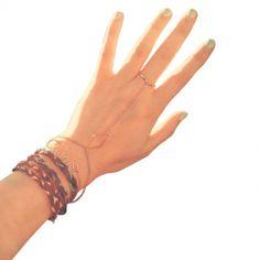 L.O.V.E Chain Bracelet #bracelets #fashion #jewelry  9thelm.com