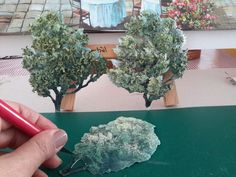 My working trees papertole-SÜMBÜL ELDEK How To Dry Basil, Paper Mache, Decoupage, Papier Mache