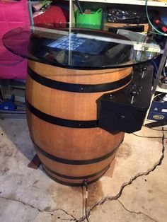 Wine Barrel Arcade Emulator