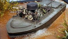 Scale Model Ships, Scale Models, Military Diorama, Military Art, Diorama Militar, Brown Water Navy, Military Action Figures, Us Navy Seals, Model Maker