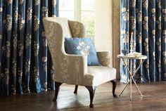 Tecidos Sanderson, colecção Mereville. À venda na Nova Decorativa! #decoração #tecidos #homedecor #fabrics #Sanderson