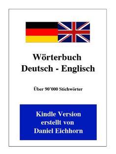 Wörterbuch Deutsch - Englisch - http://1pics.de/buecher-box/woerterbuch-deutsch-englisch/