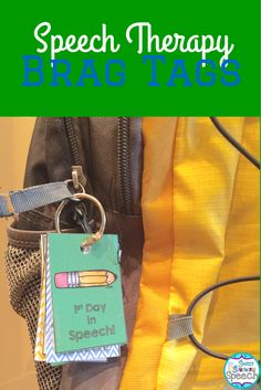 Brag Tags for Speech Therapy! 42 designs to motivate and reward your students!
