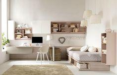 Современная детская мебель итальянской фабрики Doimo CityLine разработана с учетом возрастных изменений подростка и позволяет создавать модный и функциональный интерьер в спокойных расслабляющих оттенках.