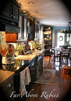 Far Above Rubies: Country Christmas Kitchen anita-faraboverubies.blogspot.com