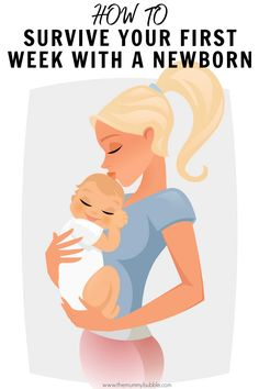 Tips for coping in your first week with a newborn baby. Everything you need to know about the first week, including breastfeeding, sleep and caring for your baby. Baby First Week, Newborn Baby Tips, Cradle Cap, Post Baby Body, Birth Weight, After Giving Birth, One Week, New Mums, Baby Hacks
