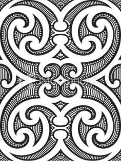 Find Polynesian Maori Tribal Tattoo Pattern stock images in HD and millions of other royalty-free stock photos, illustrations and vectors in the Shutterstock collection. Maori Designs, Maori Patterns, Muster Tattoos, Marquesan Tattoos, Maori Art, Desenho Tattoo, Indigenous Art, Free Vector Art, Tribal Art